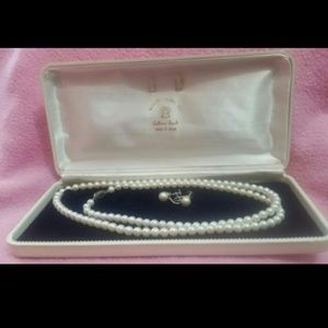 Jewelry - Real Cultured Pearls Set Japan 1960's
